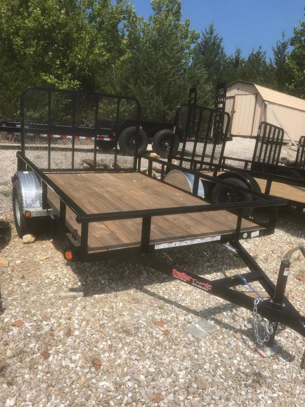 2018 Load Trail 77X10 SE ALUMINUM FENDER SINGLE AXLE Utility Trailer