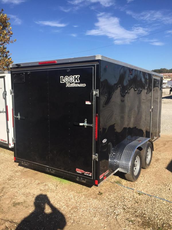 2018 Look Trailers 7X14 ST DLX RAMP DOOR Enclosed Cargo Trailer