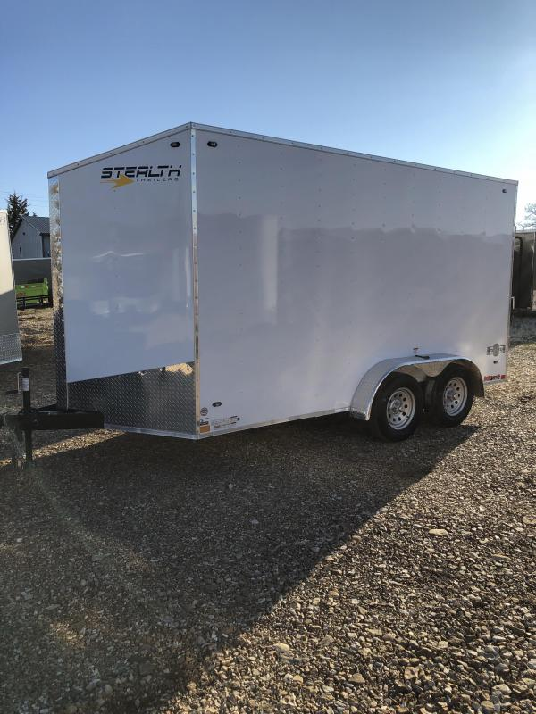 2019 Stealth Trailers 7X14 MUSTANG Enclosed Cargo Trailer