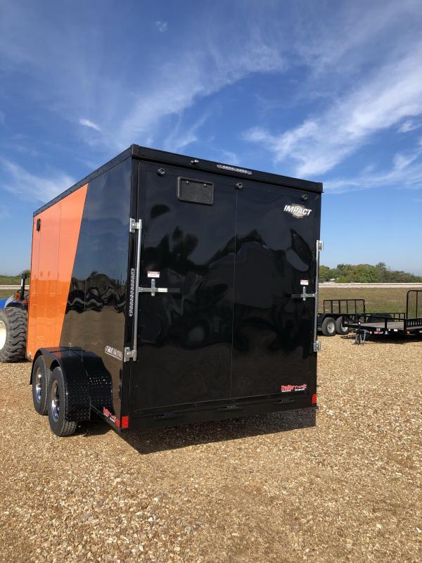 2019 Impact Trailers 7X14 TREMOR Enclosed Cargo Trailer