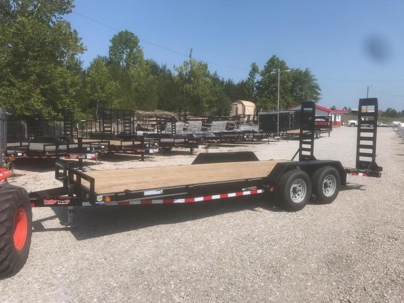 2018 Load Trail 83X20 1K STAND UP RAMP Car / Racing Trailer