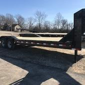 2019 Load Trail 102X26 GOOSENECK CH Flatbed Trailer