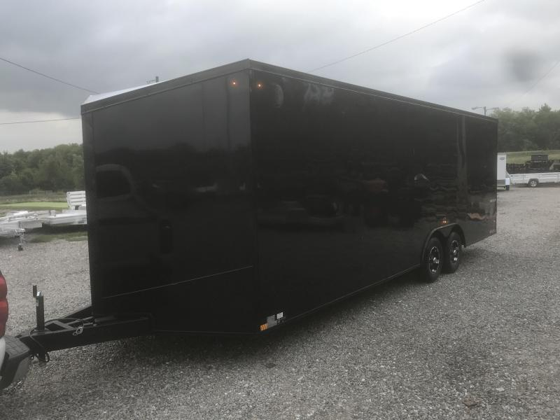 2019 Impact Trailers 8.5 X 24 SHOCKWAVE BLACHOUT PACKAGE Enclosed Cargo Trailer