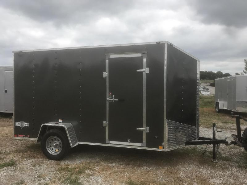 2019 Stealth Trailers 6X12 MUSTANG CHARCOAL GRAY Enclosed Cargo Trailer