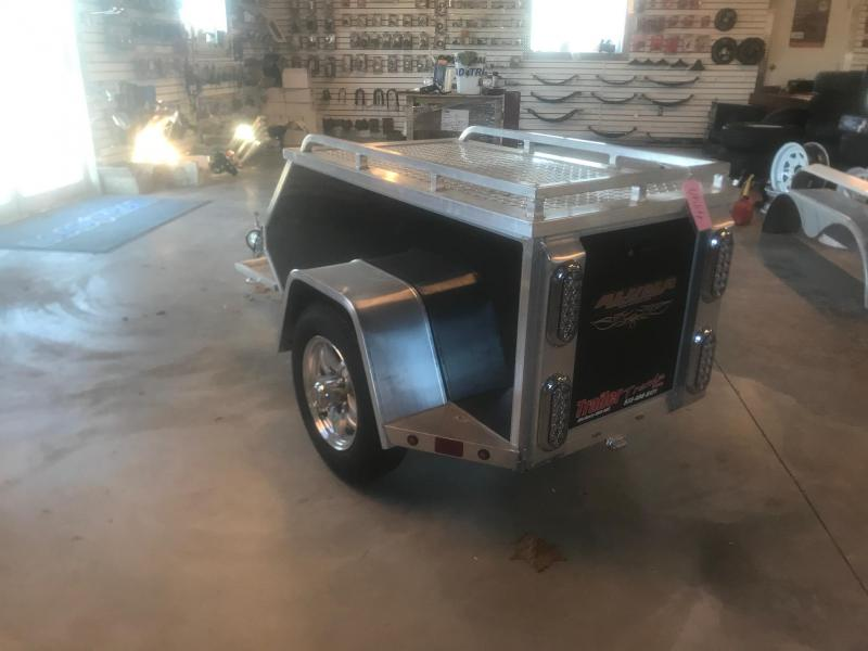 2019 Aluma MCTXL MOTORCYCLE Enclosed Cargo Trailer