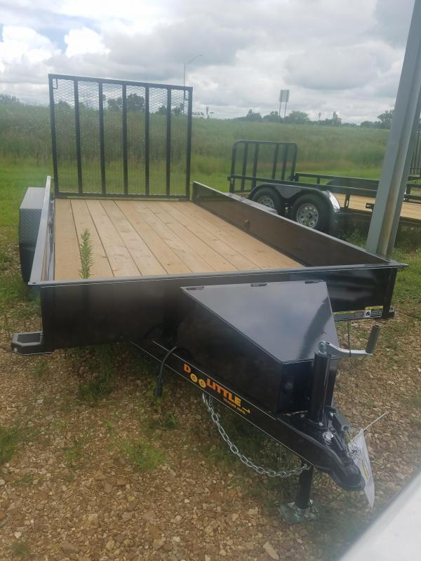 2019 DooLitttle Trailers SOLID SIDE UTILITY 77x14 Utility Trailer in Ashburn, VA