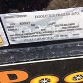 2019 Doolittle Trailer Mfg 84X12 Utility Trailer