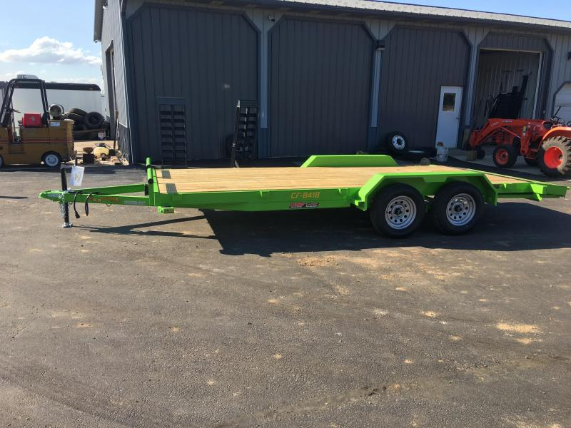 2019 Doolittle Trailer Mfg 84x18 CARHAULER Flatbed Trailer