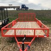 "2019 Load Trail 77"" X 14' Single Axle Utility Trailer"