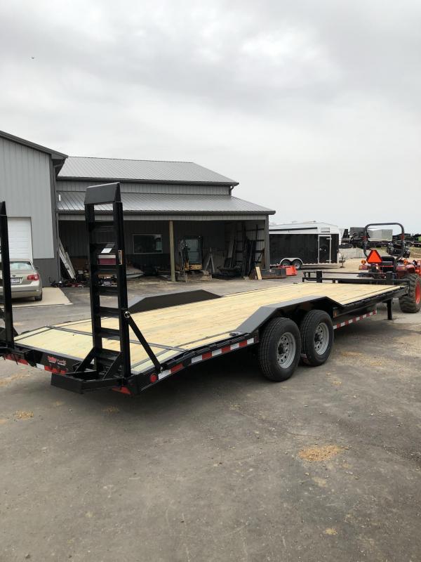 2019 Load Trail 102X24 Flatbed Trailer