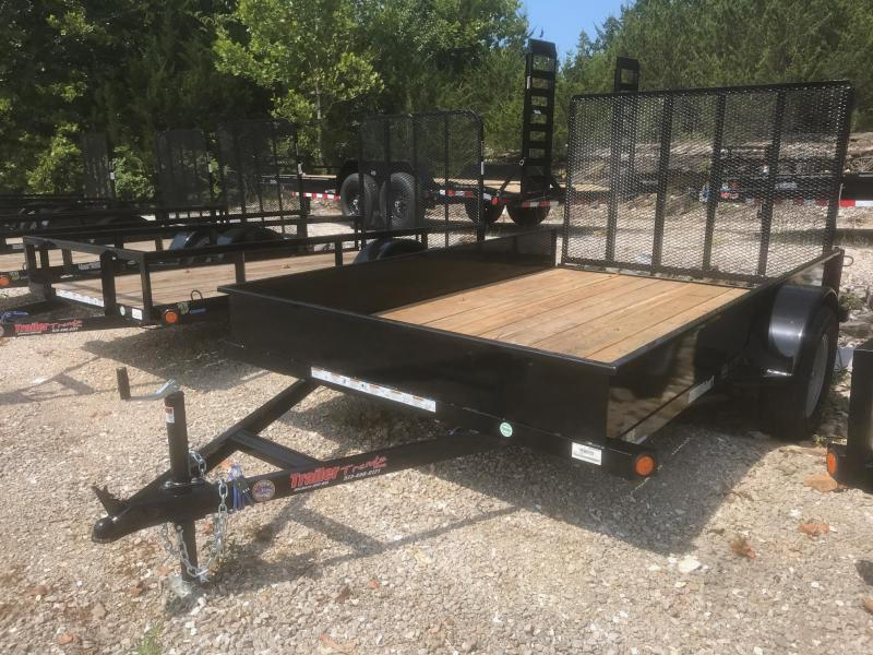 2018 Load Trail 77X10 SOLID SIDE Utility Trailer