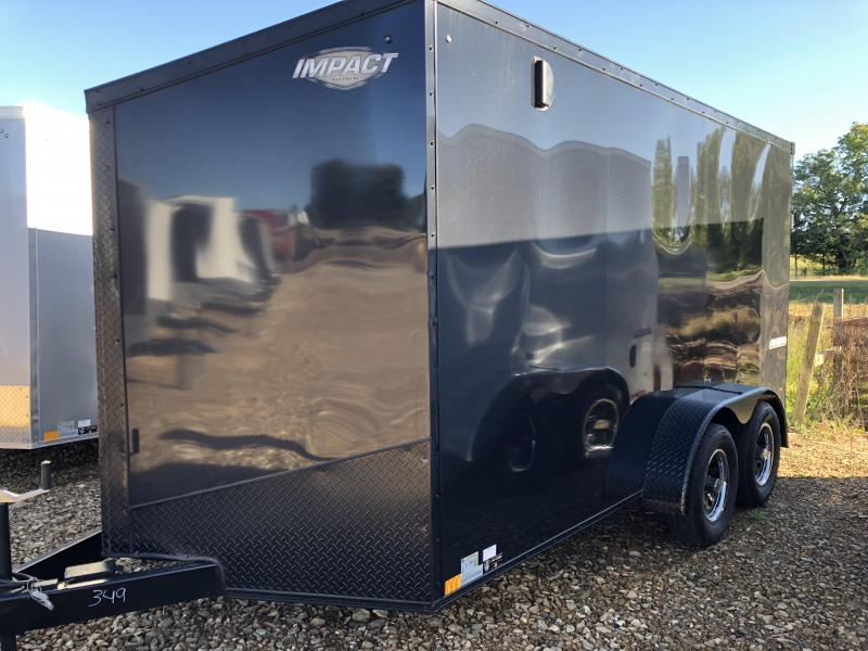 2019 Impact Trailers 7X14 Enclosed Cargo Trailer in Ashburn, VA