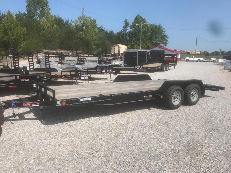 2018 Load Trail 83x20 7K 2 DOVE TAILSLIDE IN RAMPS Car / Racing Trailer