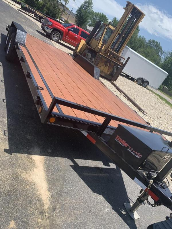 2017 Load Trail 102X22 Flatbed Trailer