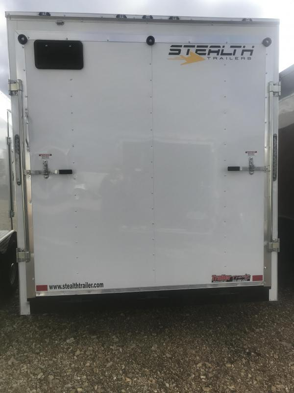 2019 Stealth Trailers 7X14 Enclosed Cargo Trailer