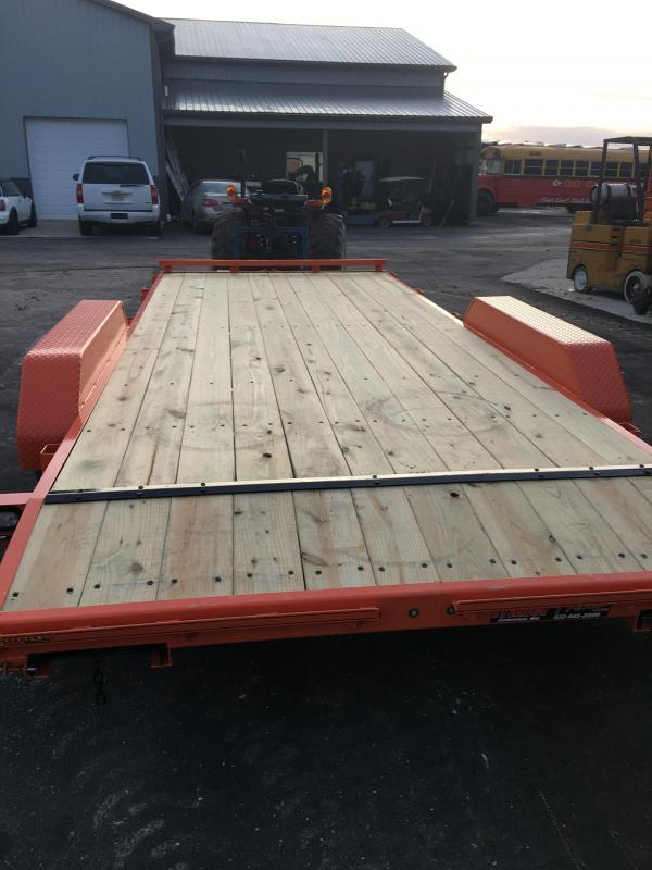 2019 Doolittle Trailer Mfg 84X18 CH Flatbed Trailer