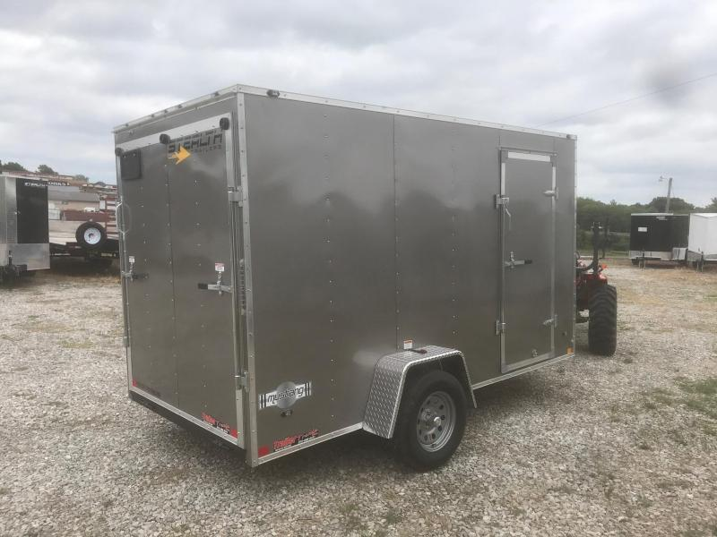 2019 Stealth Trailers 6X12 MUSTANG PEWTER Enclosed Cargo Trailer