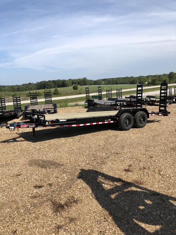 2020 Load Trail 83X22 LOADTRAIL CARHAULER 2' DOVE FOLD UP RAMPS Car / Racing Trailer