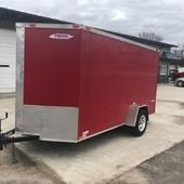 2019 Freedom Trailers 6X12 Enclosed Cargo Trailer
