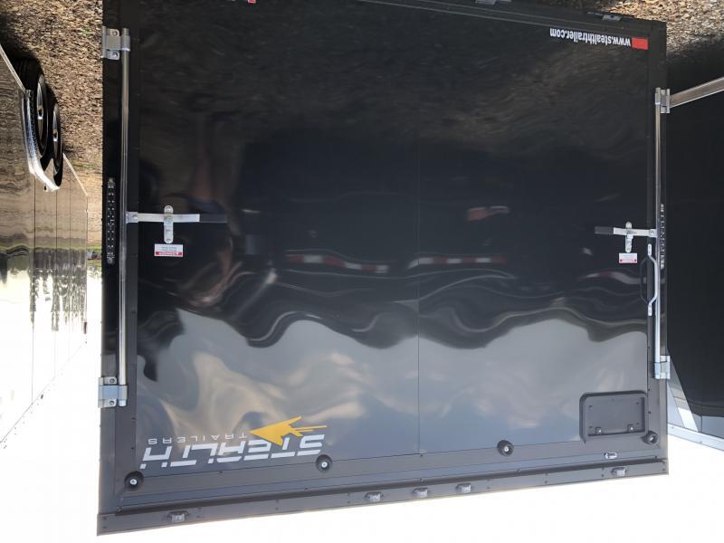 2019 Stealth Trailers 8.5X24 SILVER/BLACK TITAN Enclosed Cargo Trailer