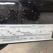 2019 Doolittle Trailer Mfg 84X16 Utility Trailer