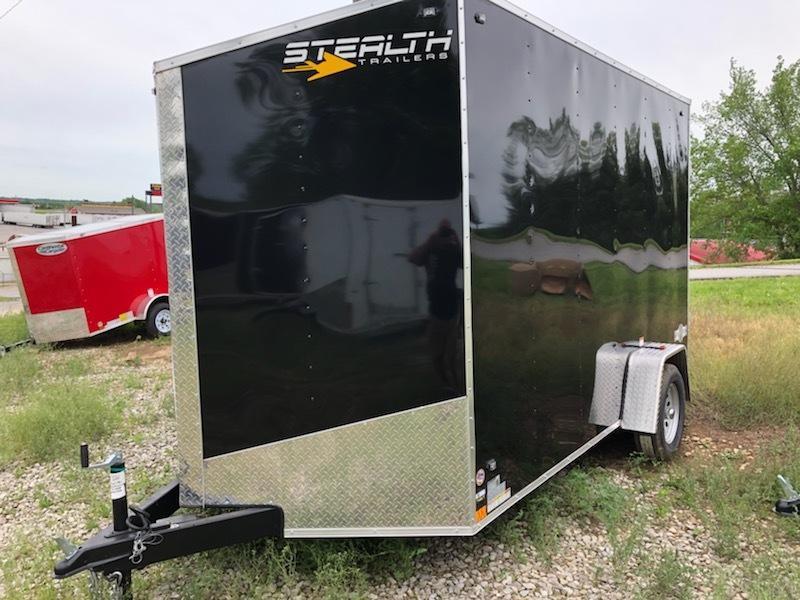 2020 Stealth Trailers 7X12 Enclosed Cargo Trailer in Ashburn, VA