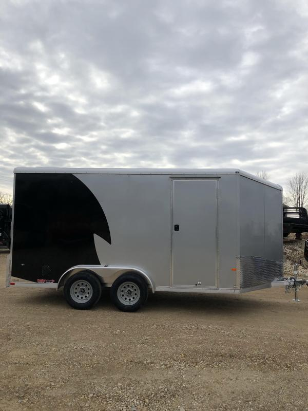 2019 NEO Trailers 7.5x14 R-Top Enclosed Cargo Trailer