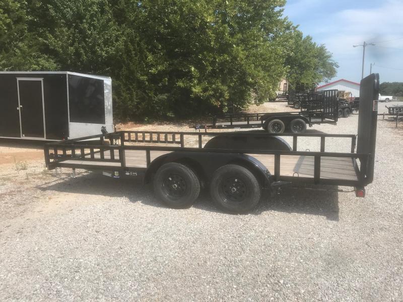 2018 Load Trail 83X16 UE TANDEM AXLE Utility Trailer
