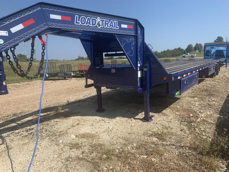 2020 Load Trail 102X40 LOADTRAIL GOOSENECK 10' HYD DOVE 25900 GVW Equipment Trailer