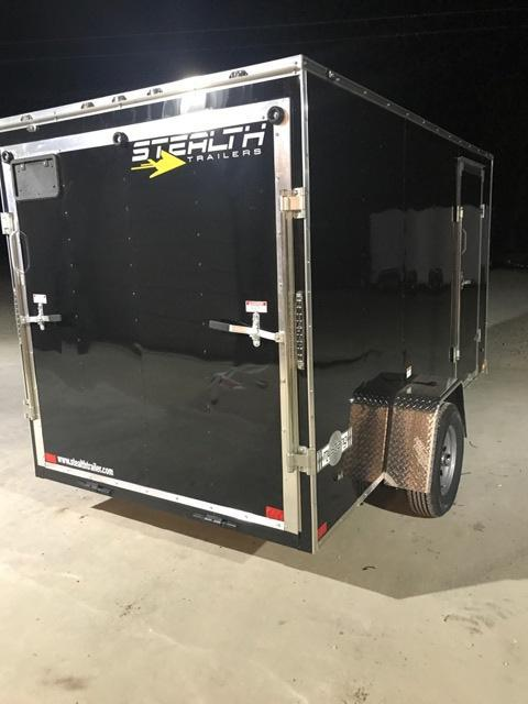 2018 Stealth Trailers 6X12 Enclosed Cargo Trailer