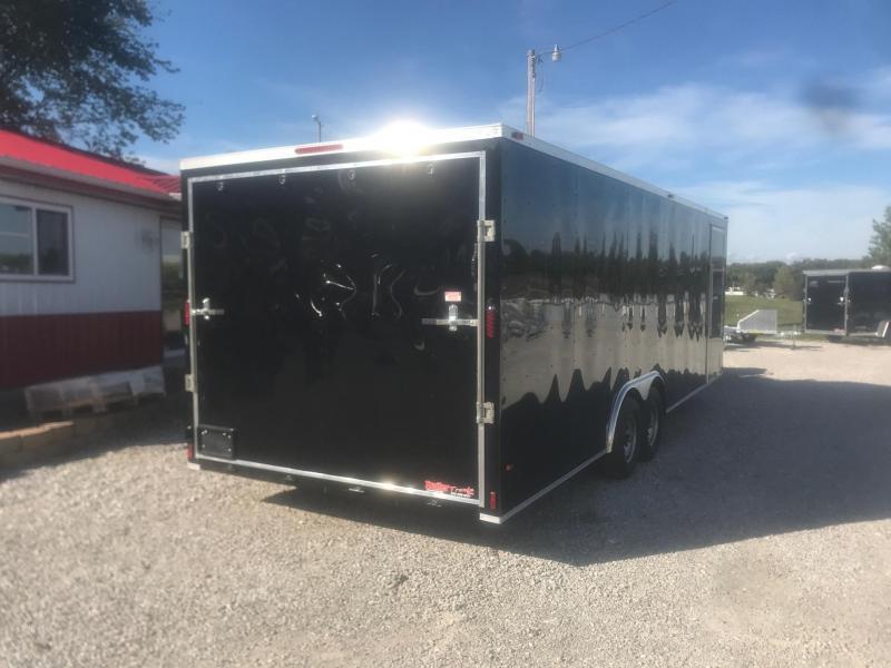 2019 TT 8.5X24 10K Enclosed Cargo Trailer