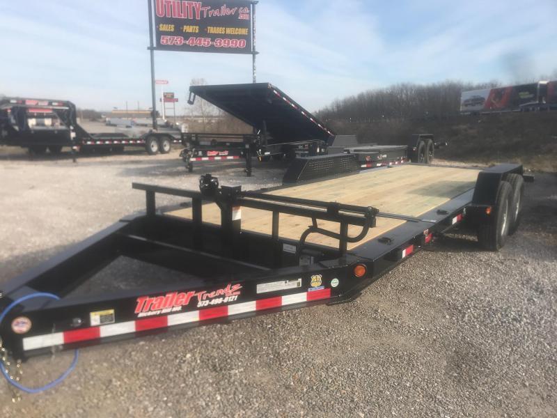2019 Load Trail 83X20 14K TH TILT-N-GO Equipment Trailer
