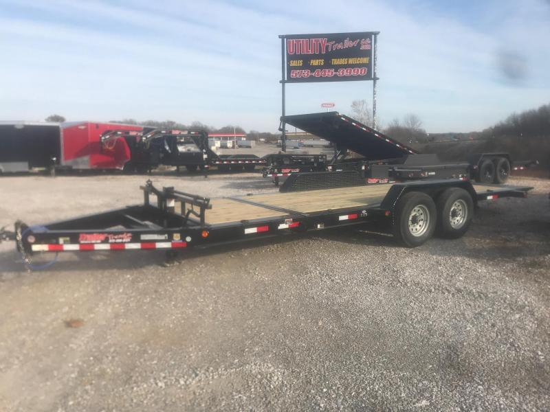 2019 Load Trail 83X20 14K TH TILT-N-GO Equipment Trailer