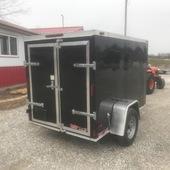 2019 Triple R 5X8 Enclosed Cargo Trailer