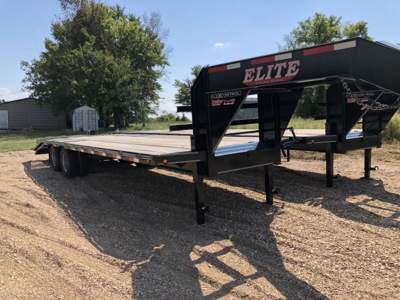 102X28 ELITE LOW PRO 22500LB GVW 5FT DOVE W/2 RAMPS WITH POP UP DOVE