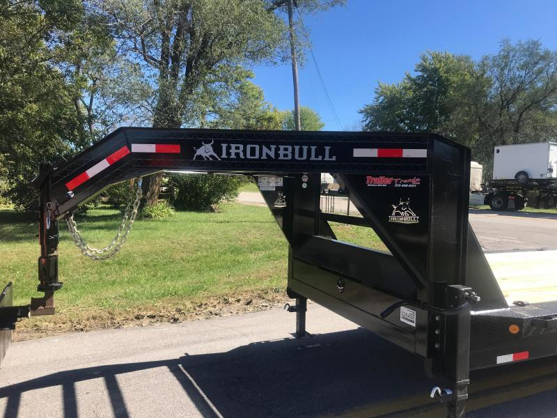 2019 Iron Bull 102X36 GOOSENECK Flatbed Trailer