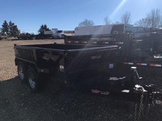 2019 Iron Bull 60X10 Dump Trailer