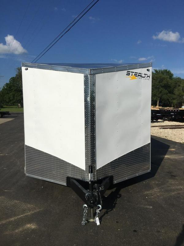 2020 Stealth Trailers 8.5X16 Enclosed Cargo Trailer