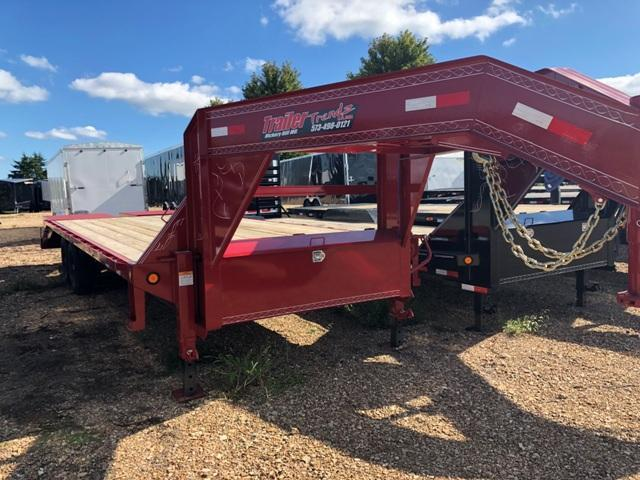 2019 Load Trail 102X25 GOOSENECK HD Flatbed Trailer