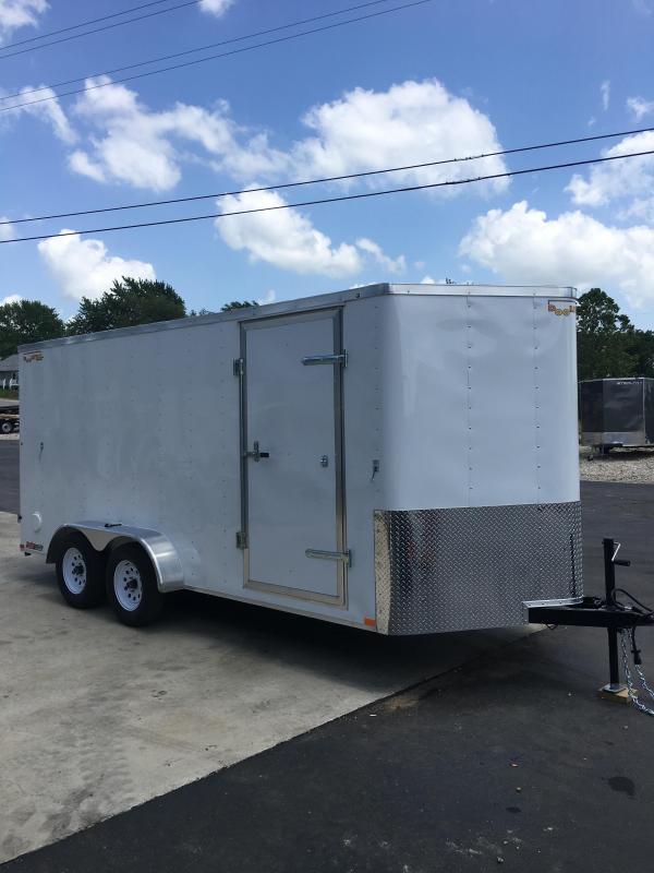 2019 Doolittle Trailer Mfg 7X16 BARN DOOR Enclosed Cargo Trailer
