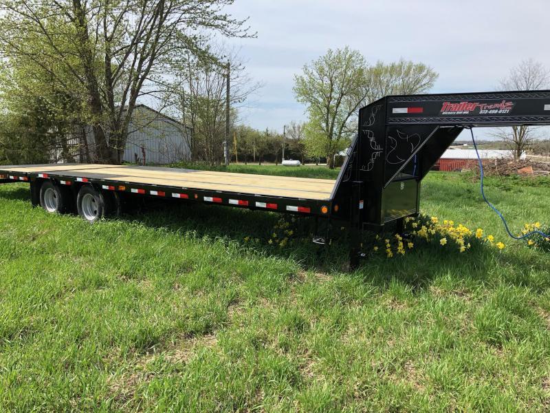2019 Load Trail 102X30 GOOSENECK Flatbed Trailer