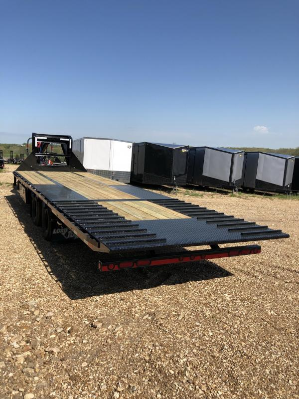"2019 Load Trail 102"" X 28' Tandem Low-pro Gooseneck Equipment Trailer"
