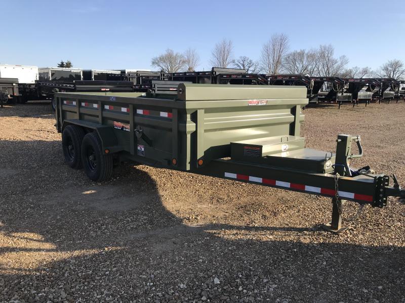 2018 Load Trail Low Pro Dump Trailer