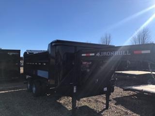 2018 Iron Bull 96X16 Dump Trailer