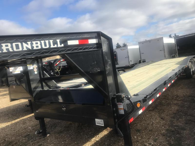 2019 Iron Bull 40X102 Flatbed Trailer
