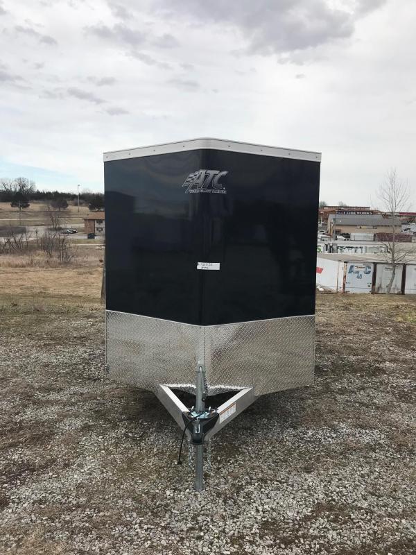 2018 Aluminum Trailer Company 6X12 RAMP DOOR ALUMINUM FRAME Enclosed ...