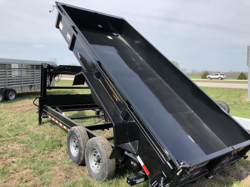 2019 Doolittle Trailer Mfg 84X16 Dump Trailer