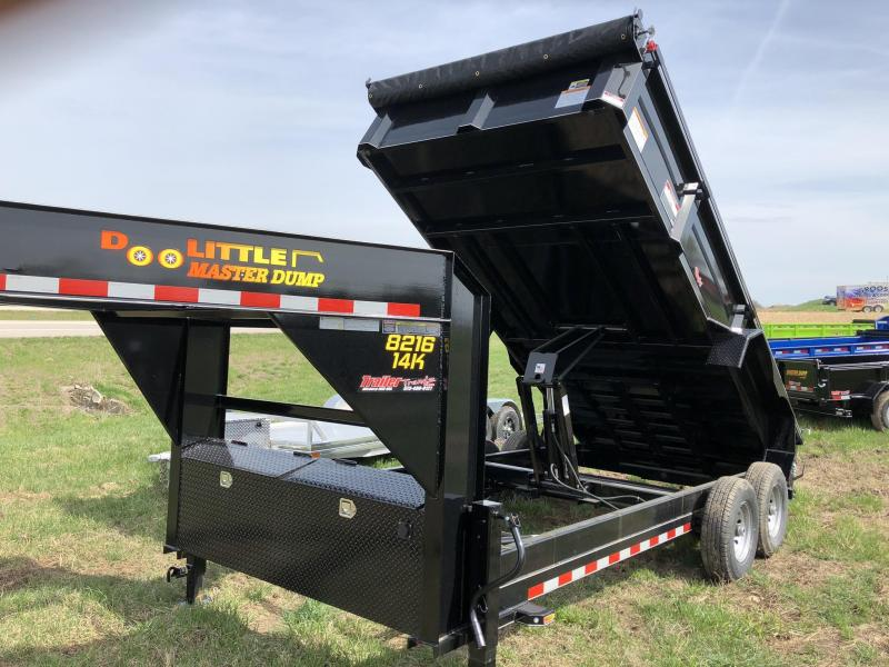2019 Doolittle Trailer Mfg 84X16 Dump Trailer