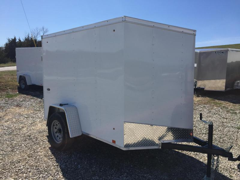 2018 Look Trailers ST DLX 5X8 Enclosed Cargo Trailer