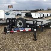 2017 Load Trail 102x22 LT Bumper Pull Deckover Flatbed Trailer in Ashburn, VA